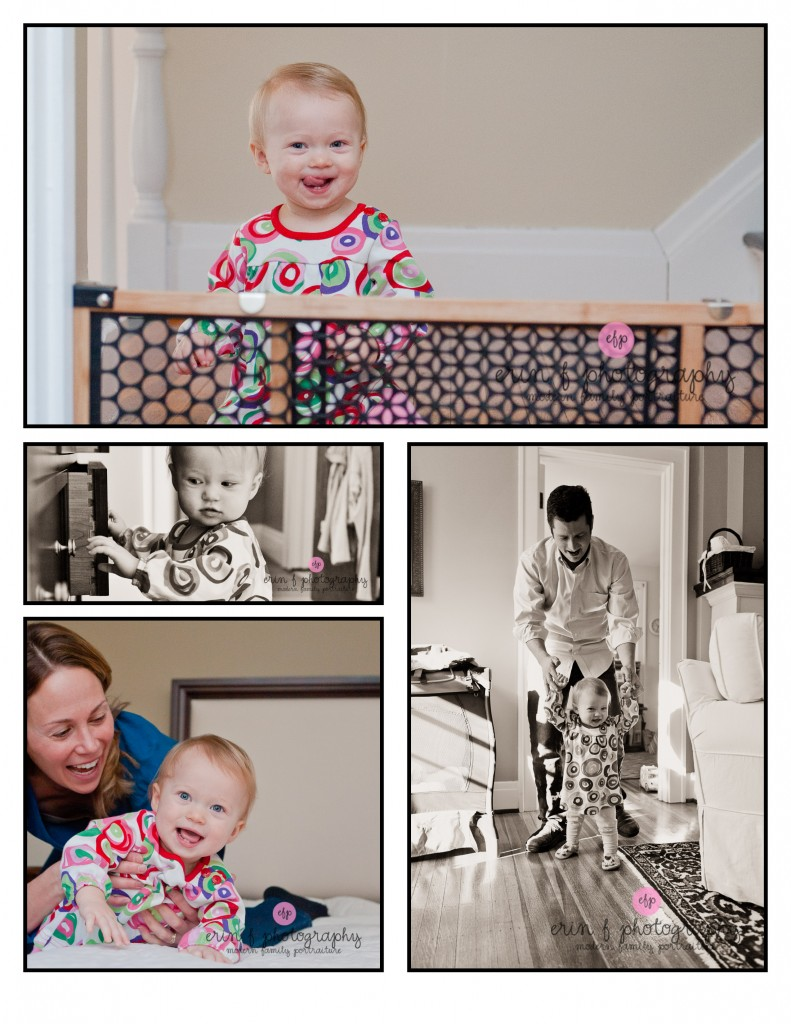 1 year old family photo session