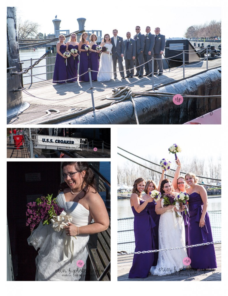 Buffalo Naval Park wedding