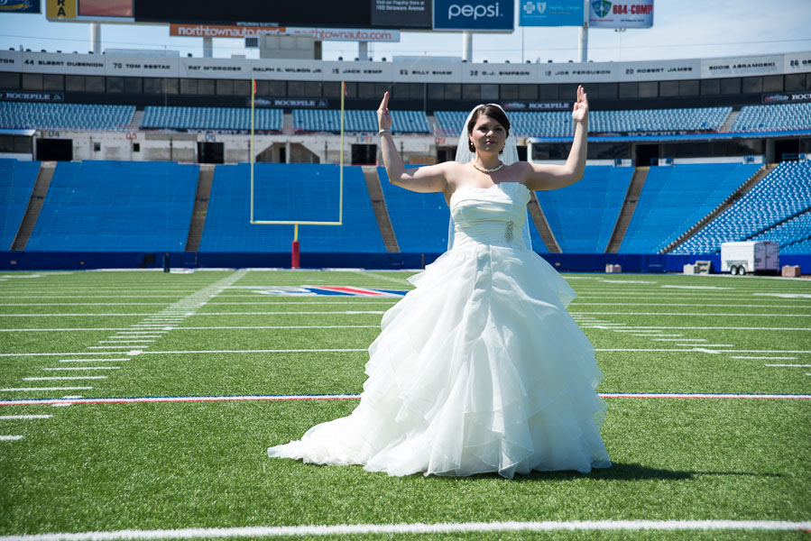 Buffalo bills wedding 15