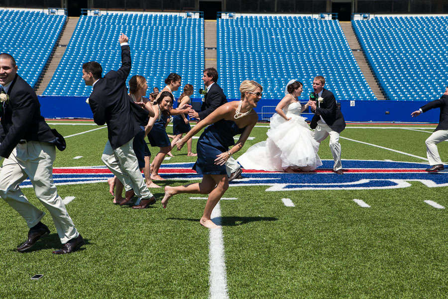 Buffalo bills wedding 17