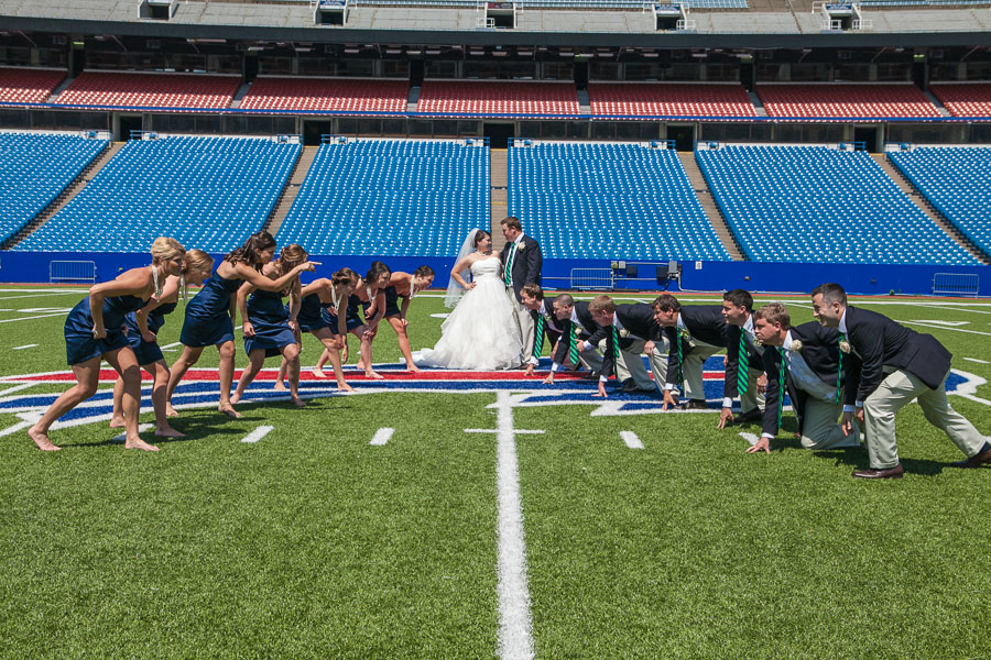 Buffalo bills wedding 18