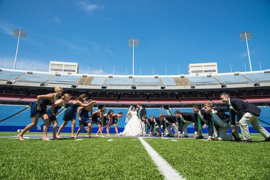 Buffalo bills wedding 19