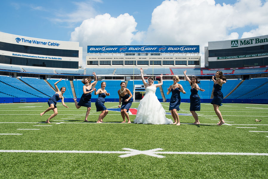 Buffalo bills wedding 21