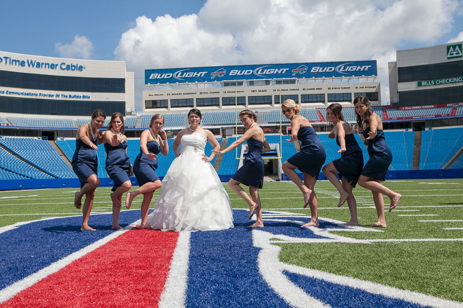 Buffalo bills wedding 22