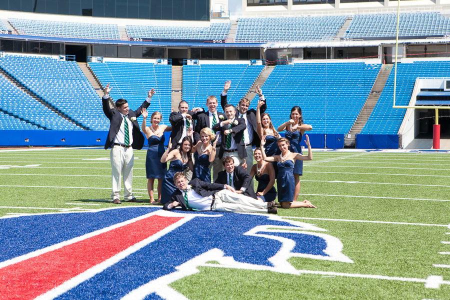 Buffalo bills wedding 26