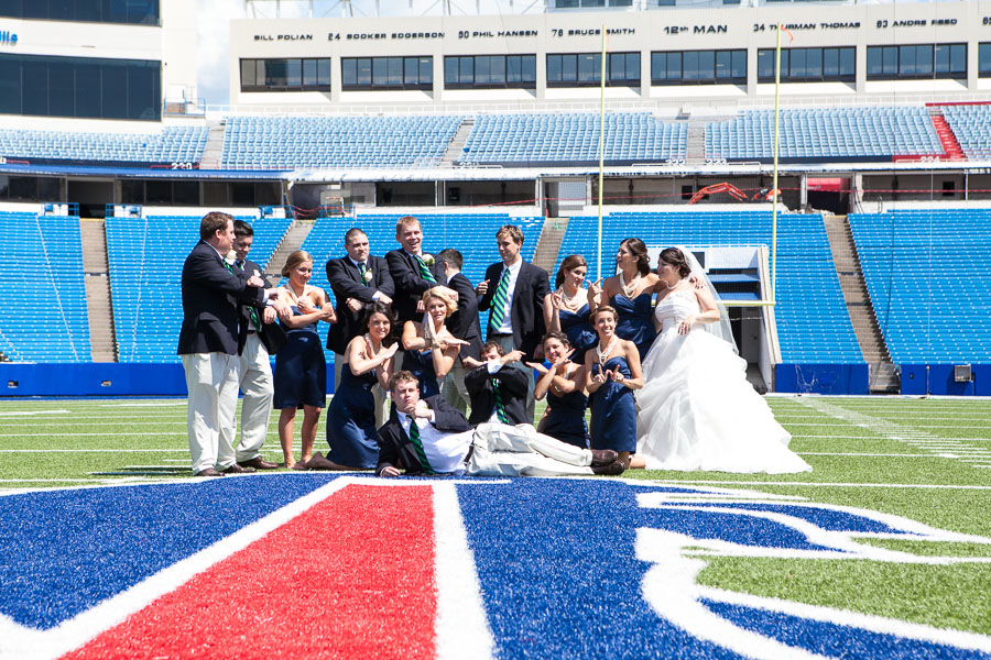 Buffalo bills wedding 27