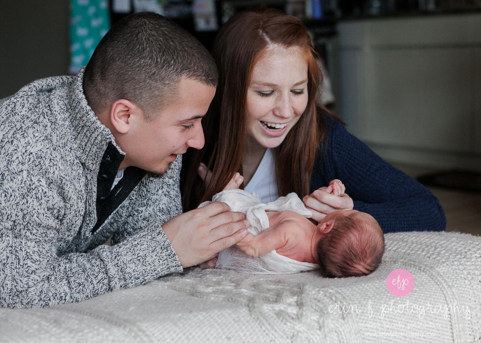 Holiday Baby: Newborn Photo Session
